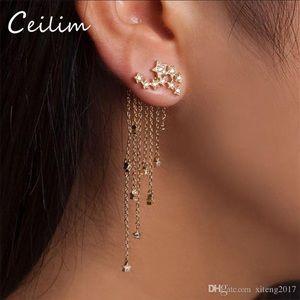 Jewelry - Gorgeous waterfall earrings 🌙✨⭐️🌛🌹